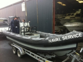 Portumna Marine awarded new service contract by the Irish Naval Service