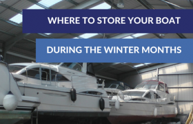 Where to store your boat during the winter months